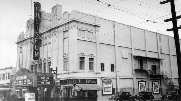 coliseum theater in san francisco ca cinema treasures