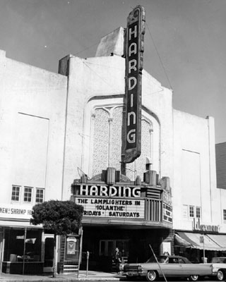 The Harding Theater!