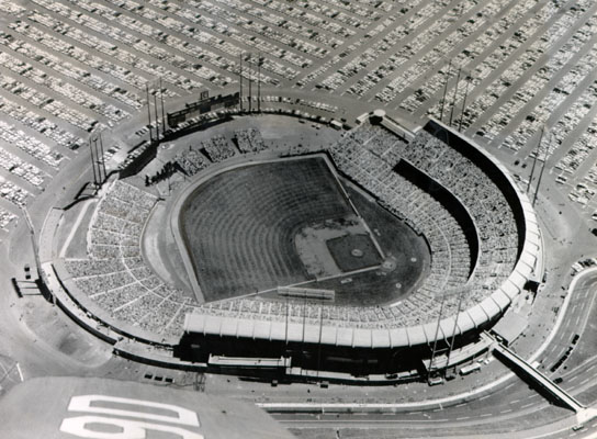 Candlestick Park, July 11, 1961.  Courtesy of the San Francisco History Center, San Francisco Public Library